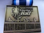 Overlake Labor Day Half Marathon Medal September 2, 2013