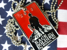 2013 Race for a Soldier Finisher's Medal