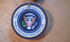 First Call President's Day Medal