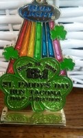 Tacoma St Paddy's Day Finisher's Medal