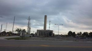 Smokestack in Detroit