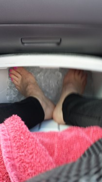 2015 Feet in ice after Omak
