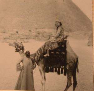 Mom on camel