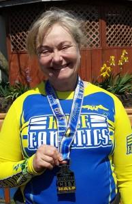 Tacoma City Half Marathon Medal