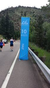 Ten mile sign