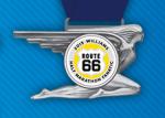 2015 Route 66 Half Marathon Medal