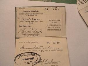 Grandpa rhodesia license