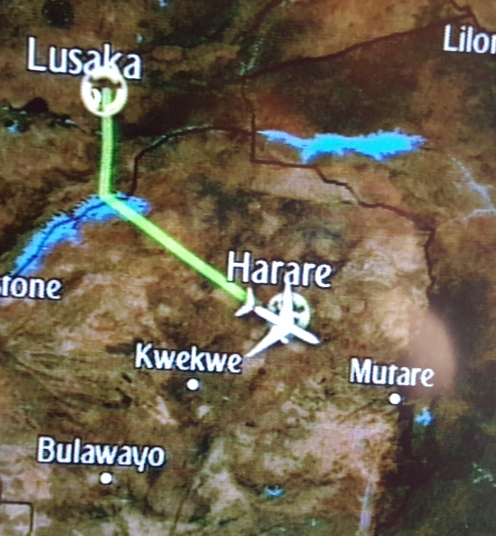 Harare map