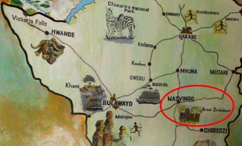 Masvingo map 1