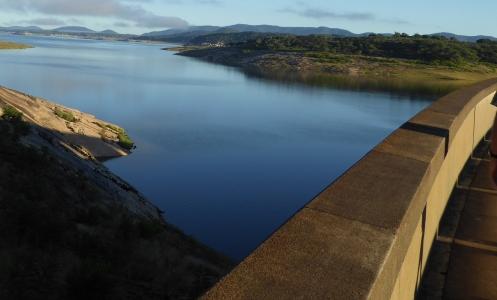 Lake Mutirikwi from the dam