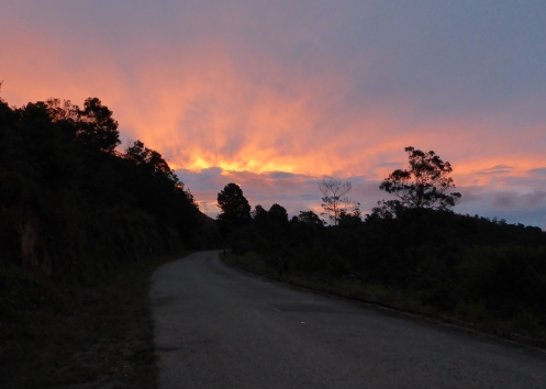 Psunset in Mutare