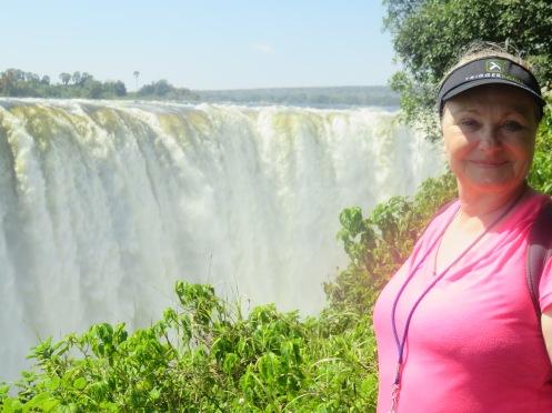 At Vic Falls